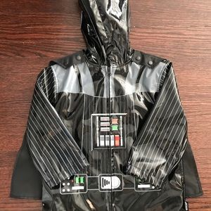 Darth Vader Disney Raincoat with Cape